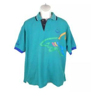 Vintage Reebok Greg Norman Golf Polo